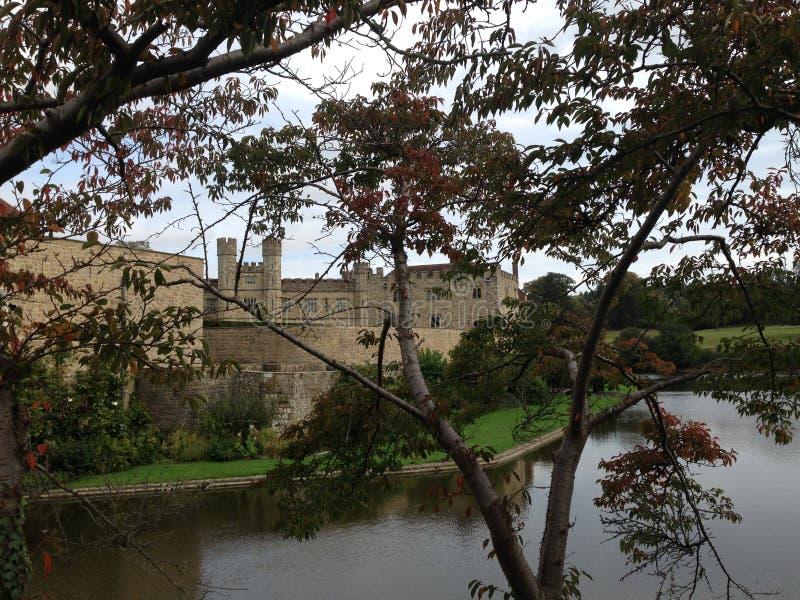 Leeds Castle en Kent United Kingdom imagen de archivo