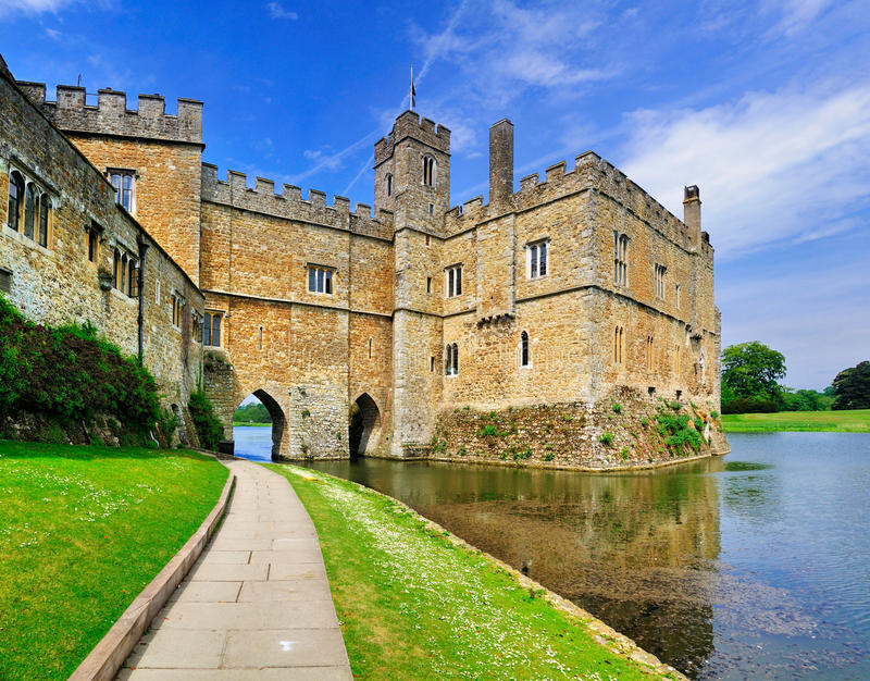 Download Leeds Castle, England stock image. Image of attraction - 20891615