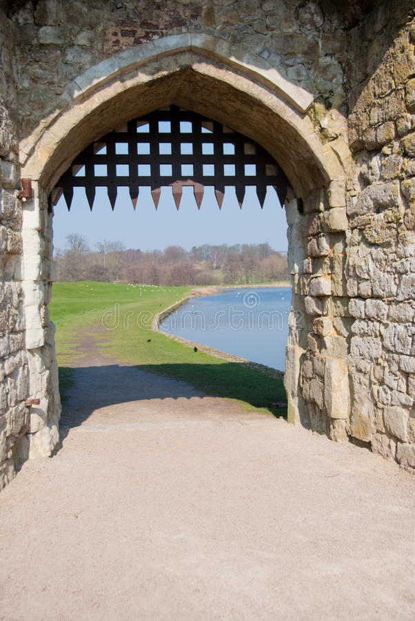 Leeds Castle Gateway royalty free stock photo