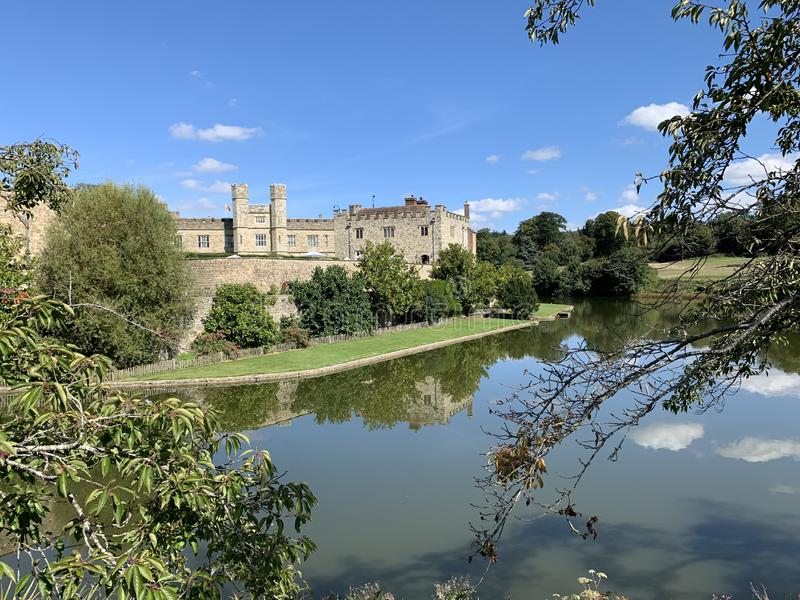 Leeds Castle, Kent, UK_05 foto de stock
