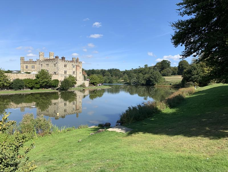 Leeds Castle, Kent, UK_04 royalty free stock images