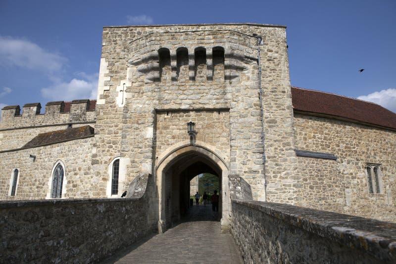 Leeds Castle, Reino Unido imagens de stock