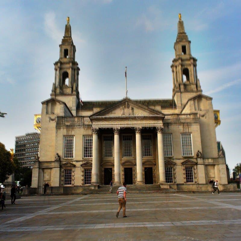 Leeds Civic Hall stock image