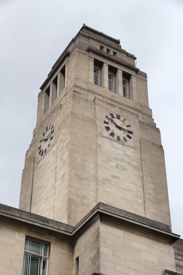 Leeds uniwersytet fotografia royalty free