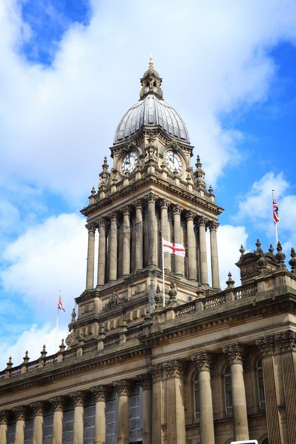 Leeds urząd miasta fotografia stock