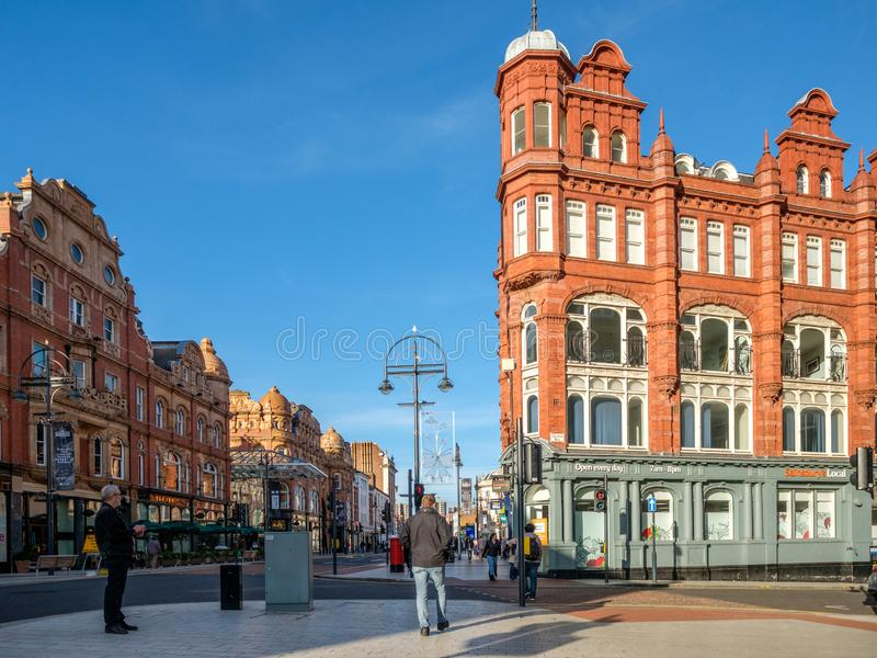 Leeds zakupy arkady obraz royalty free