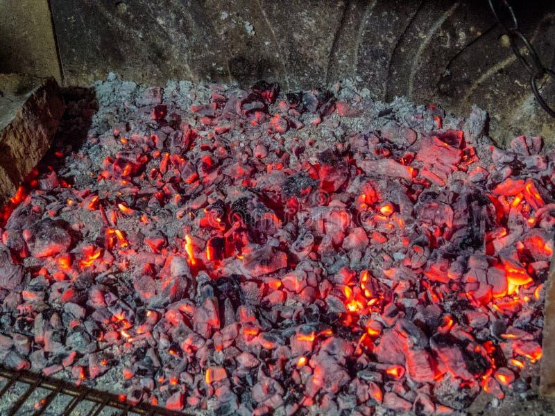 Leef steenkool royalty-vrije stock fotografie