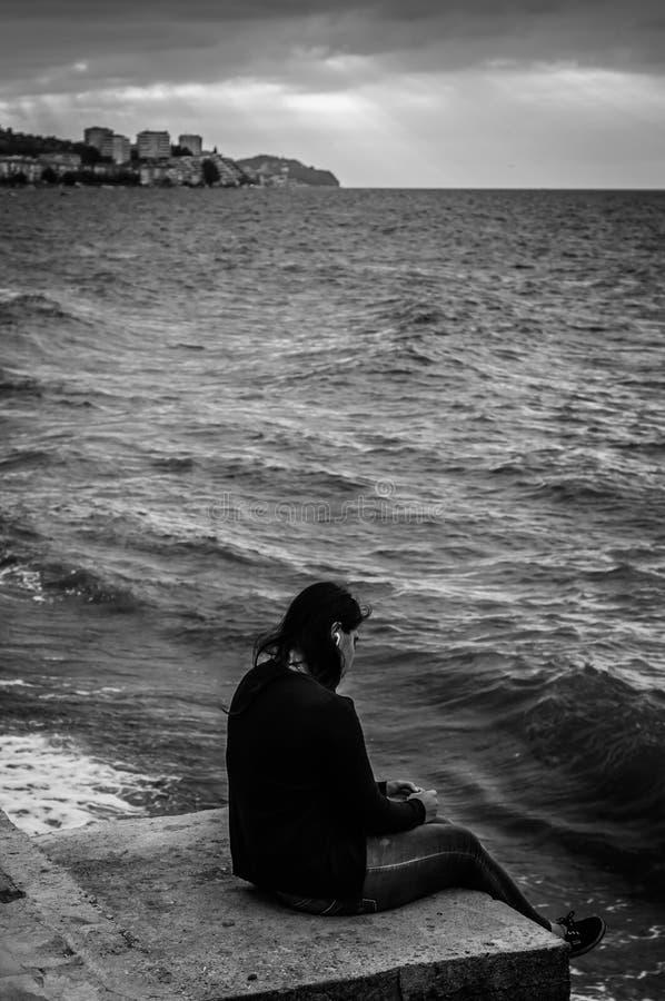 Leeftijd van Eenzaamheid royalty-vrije stock foto