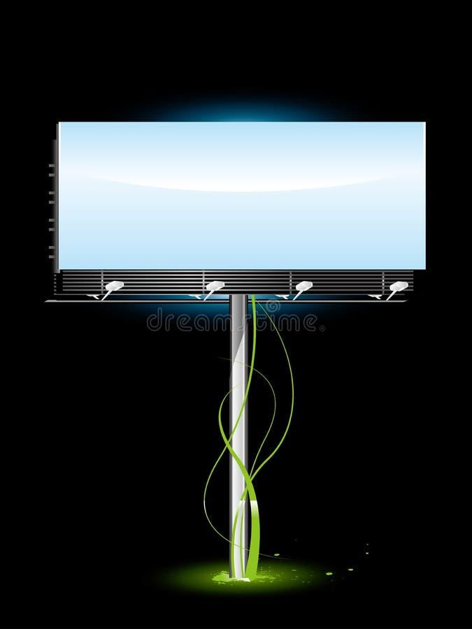 Leeg Aanplakbord vector illustratie