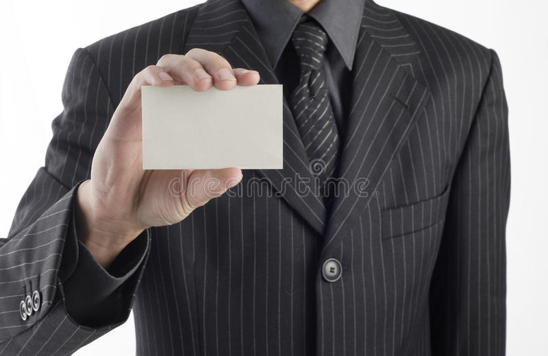 Leeg adreskaartje stock afbeelding