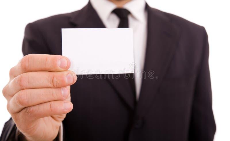 Leeg adreskaartje royalty-vrije stock foto's