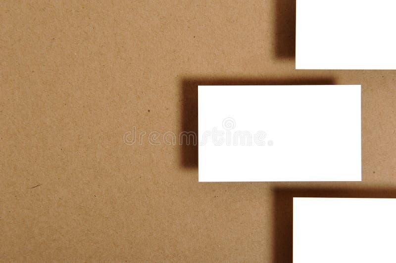 Leeg adreskaartje royalty-vrije stock foto