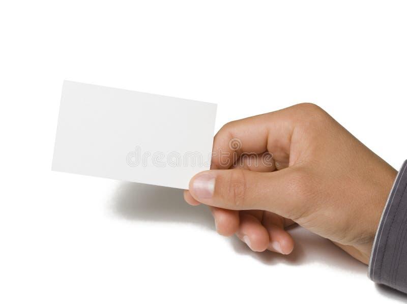 Leeg Adreskaartje ter beschikking stock foto's