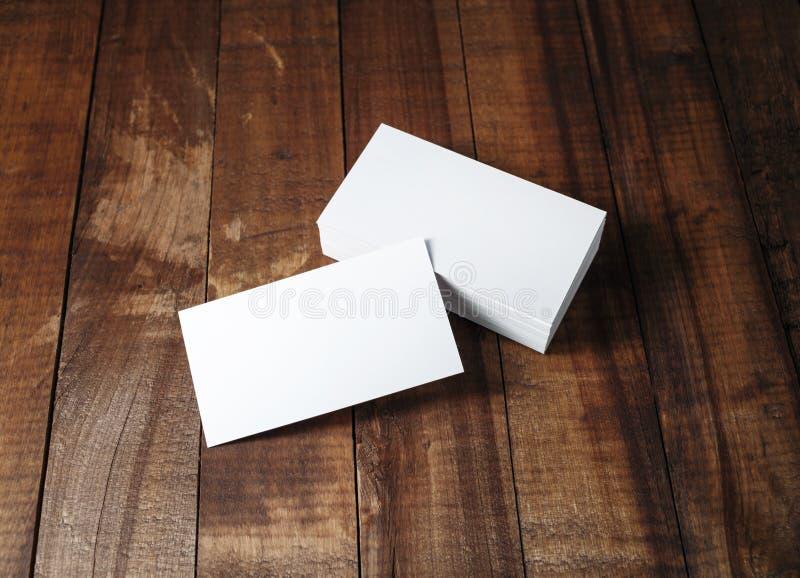 Leeg adreskaartjesmodel royalty-vrije stock fotografie
