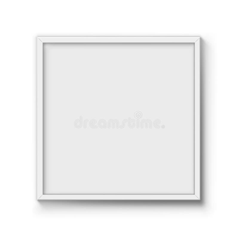Leeg afficheframe stock illustratie
