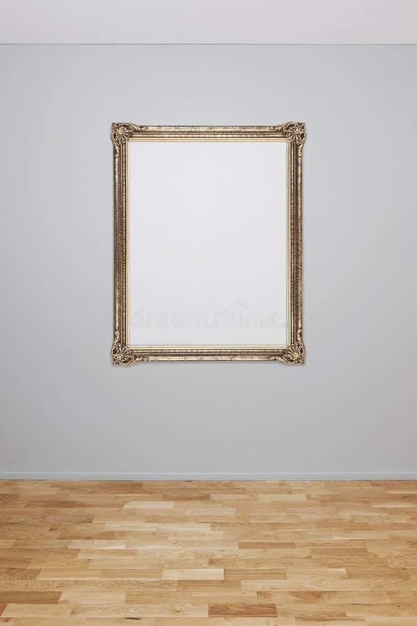Leeg beeld op een muur royalty-vrije stock foto's