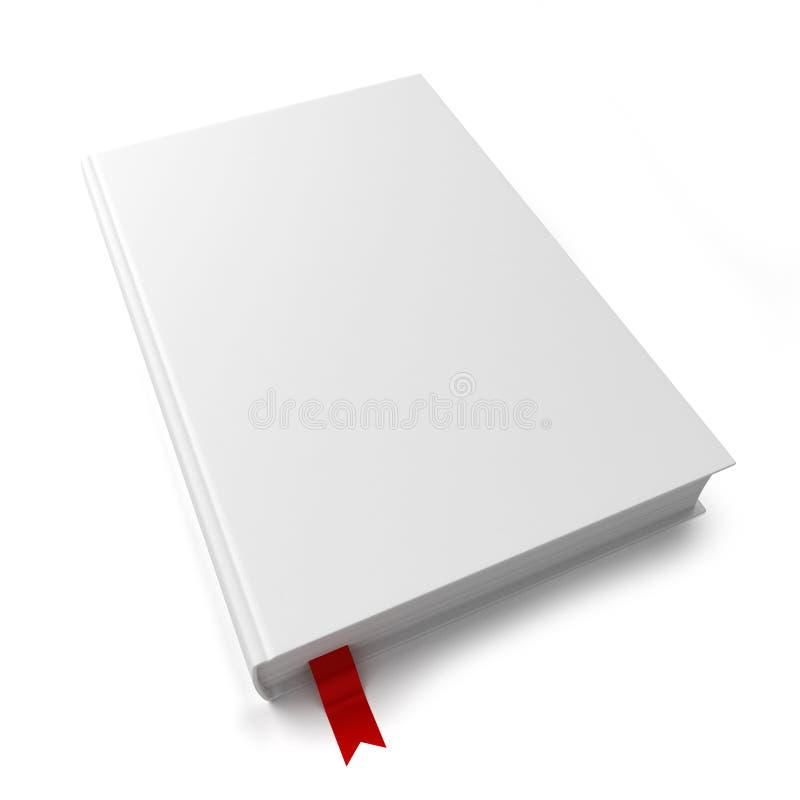 Leeg boek met een referentie royalty-vrije illustratie