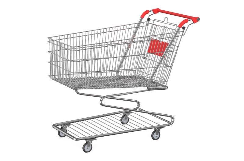 Download Leeg boodschappenwagentje stock illustratie. Illustratie bestaande uit verkoop - 54088188