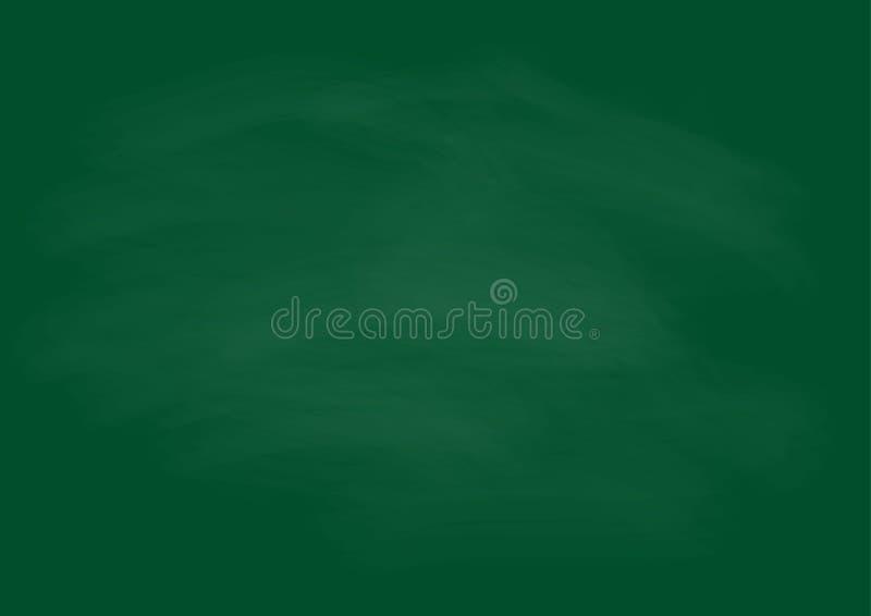 Leeg bord met langzaam verdwenen krijt voor achtergronddecoratie of D vector illustratie