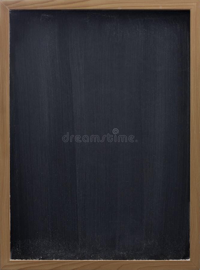 Leeg bord met verticale gomsmudges royalty-vrije stock afbeelding