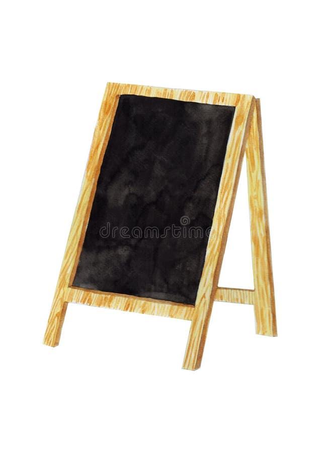 Leeg bord stock illustratie