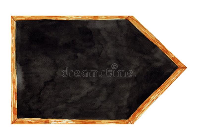 Leeg bord royalty-vrije illustratie