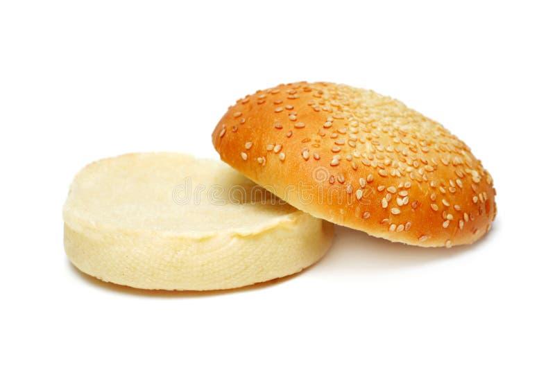 Leeg broodje stock afbeelding