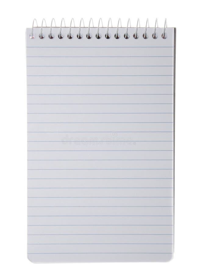 Leeg Document stock foto