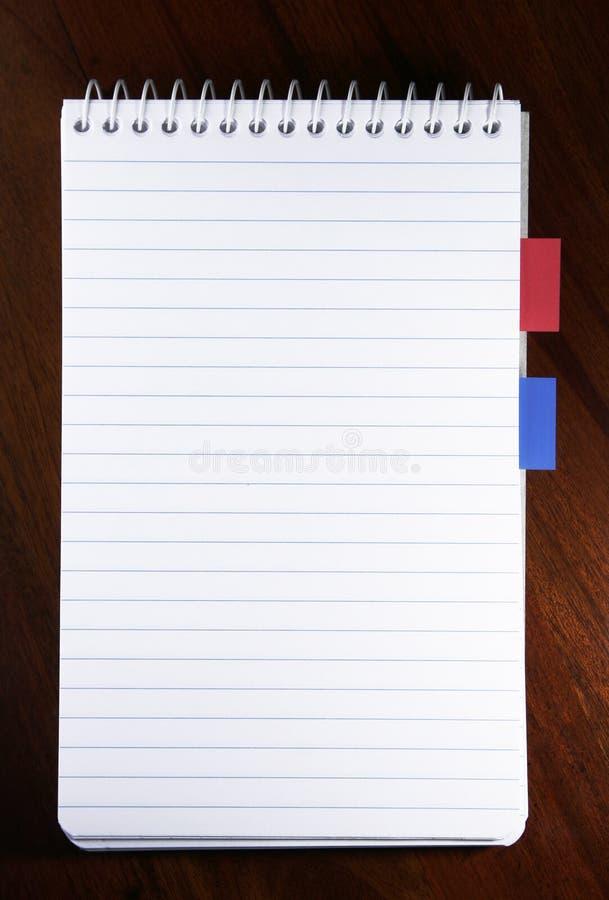 Leeg Document royalty-vrije stock fotografie