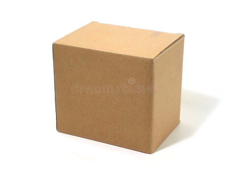 Leeg dooskarton royalty-vrije stock foto