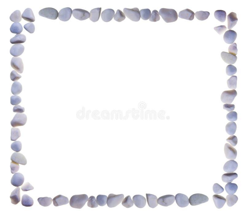 Leeg frame dat van stenen wordt gecombineerd royalty-vrije stock foto's