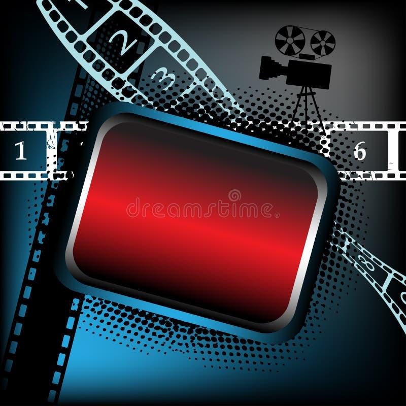 Leeg frame voor films   vector illustratie