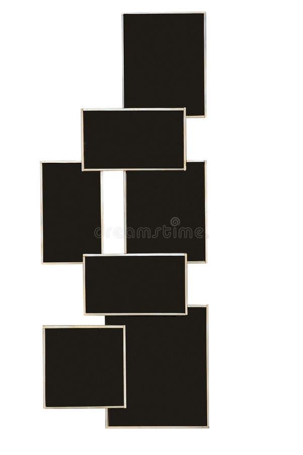 Leeg Geïsoleerd Bord vector illustratie