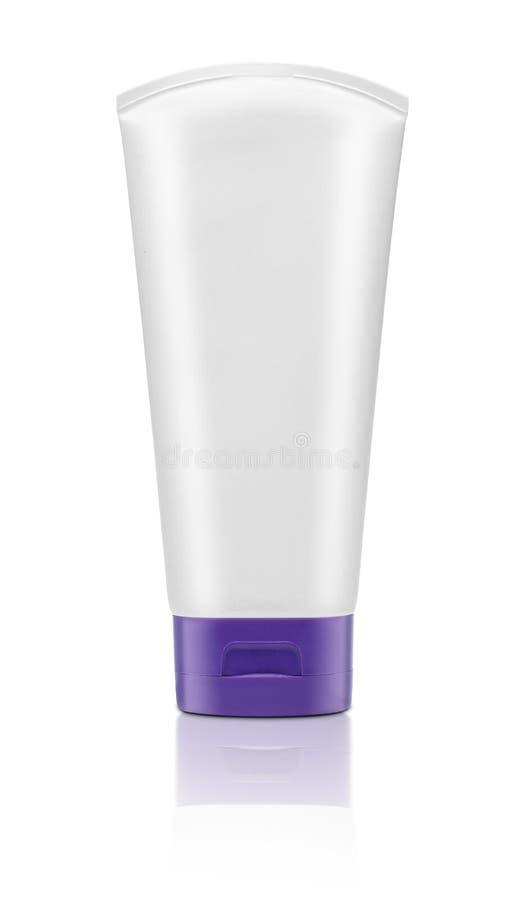 Leeg geïsoleerd cosmetische product stock foto's