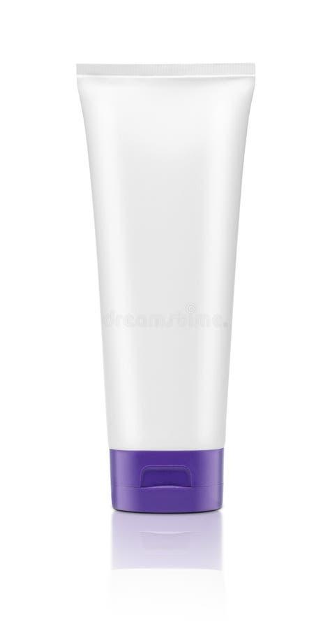 Leeg geïsoleerd cosmetische product royalty-vrije stock fotografie