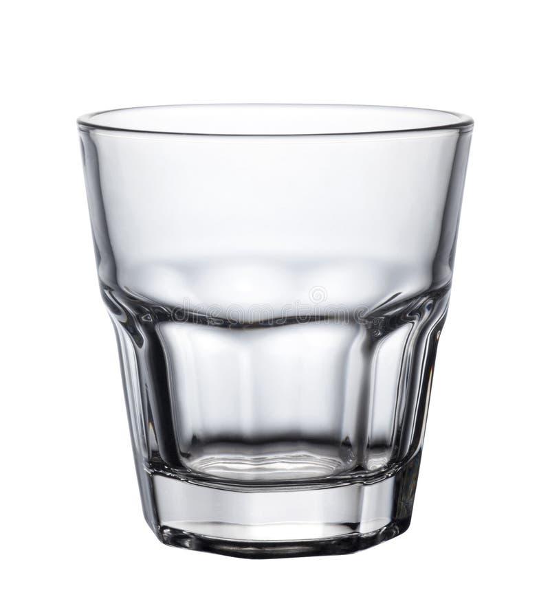 leeg glas royalty-vrije stock afbeelding