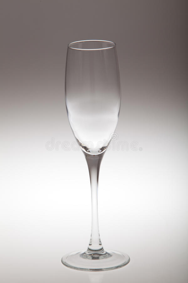 Leeg glas royalty-vrije stock fotografie