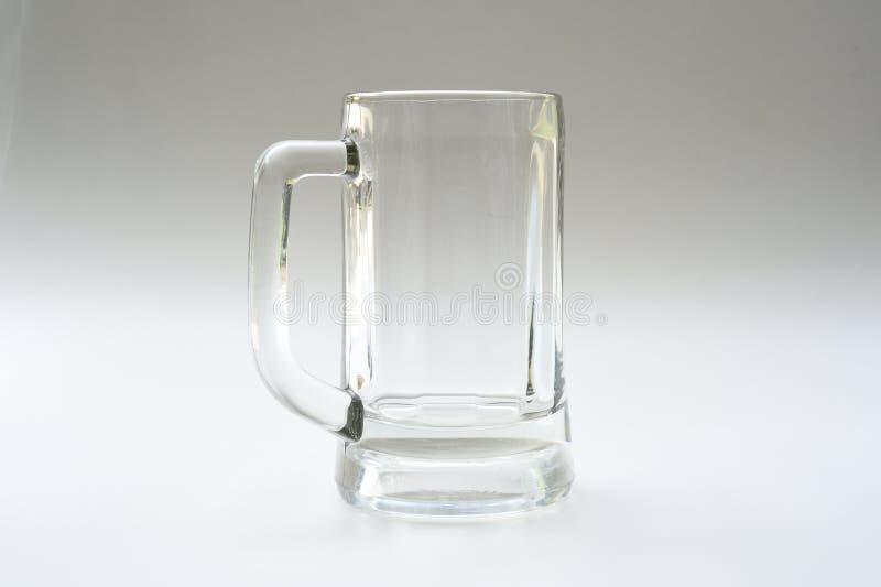 Leeg glas voor dranken stock afbeelding