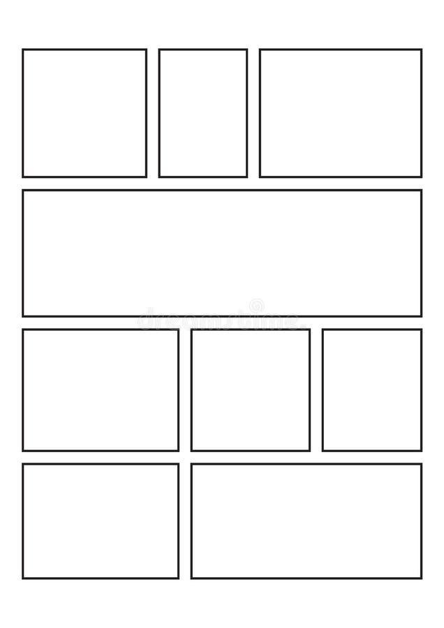 Leeg Grappig Boek, dat voor creatieve ideeën ideaal is vector illustratie