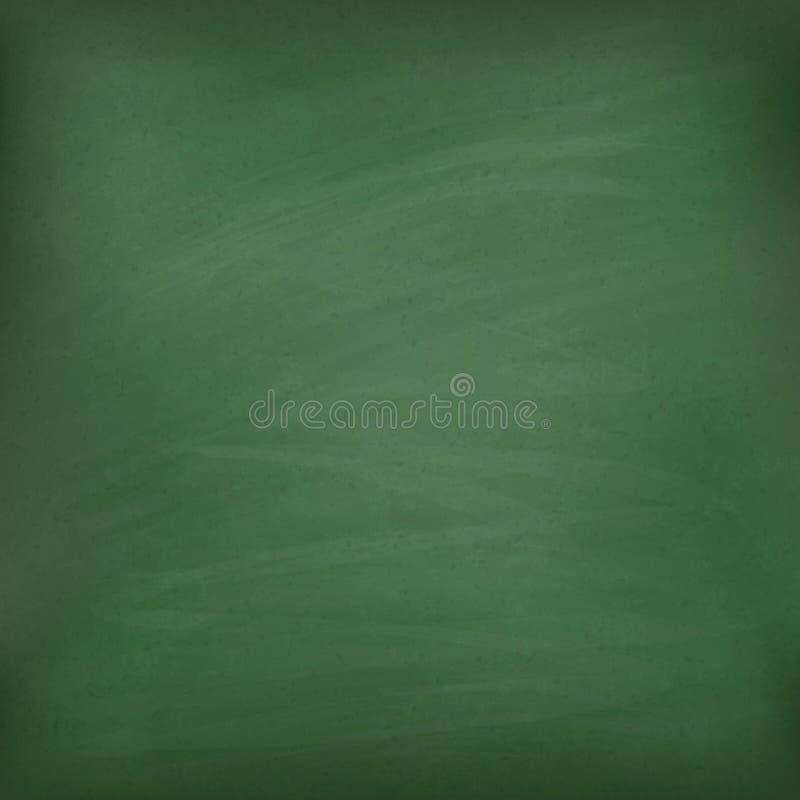 Leeg groen bord. royalty-vrije illustratie