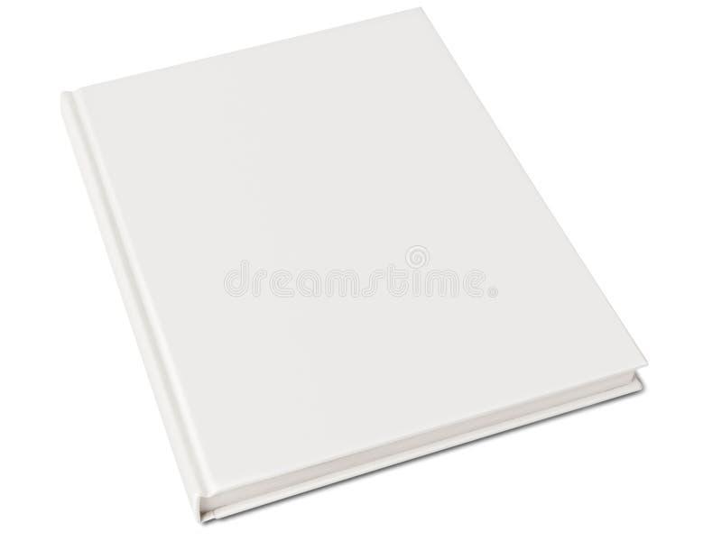 Leeg hardcoverboek royalty-vrije stock foto's