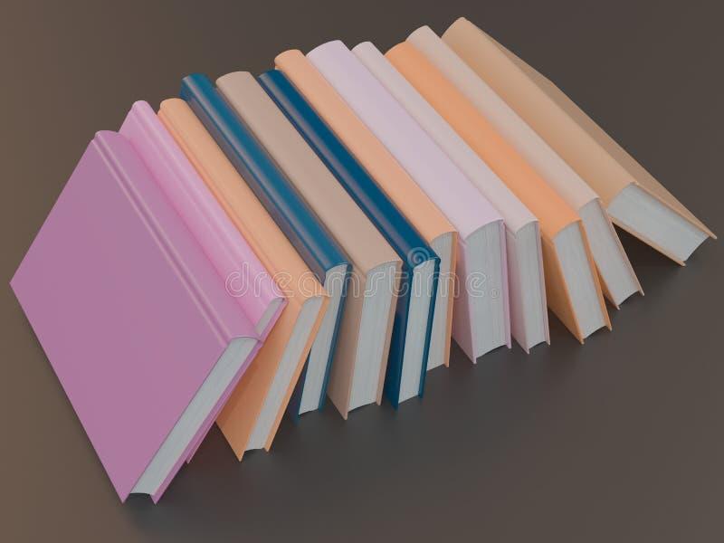 Leeg het modelmalplaatje van het kleurenboek op zwarte achtergrond stock fotografie