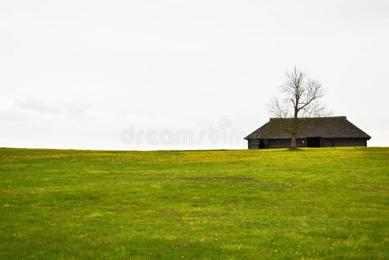 Leeg huis stock foto's