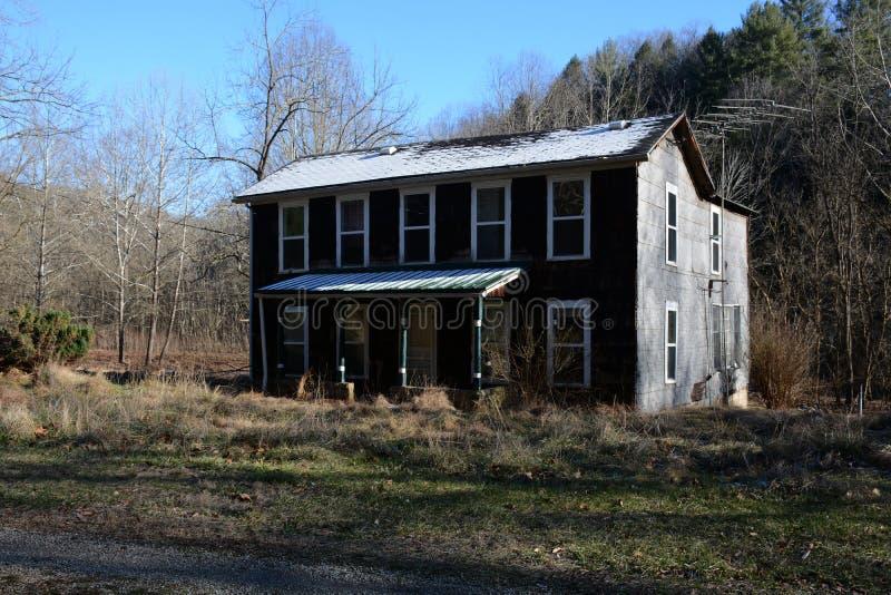 Leeg huis stock fotografie
