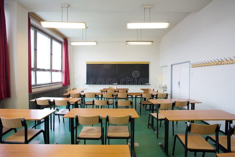 Leeg klaslokaal stock fotografie