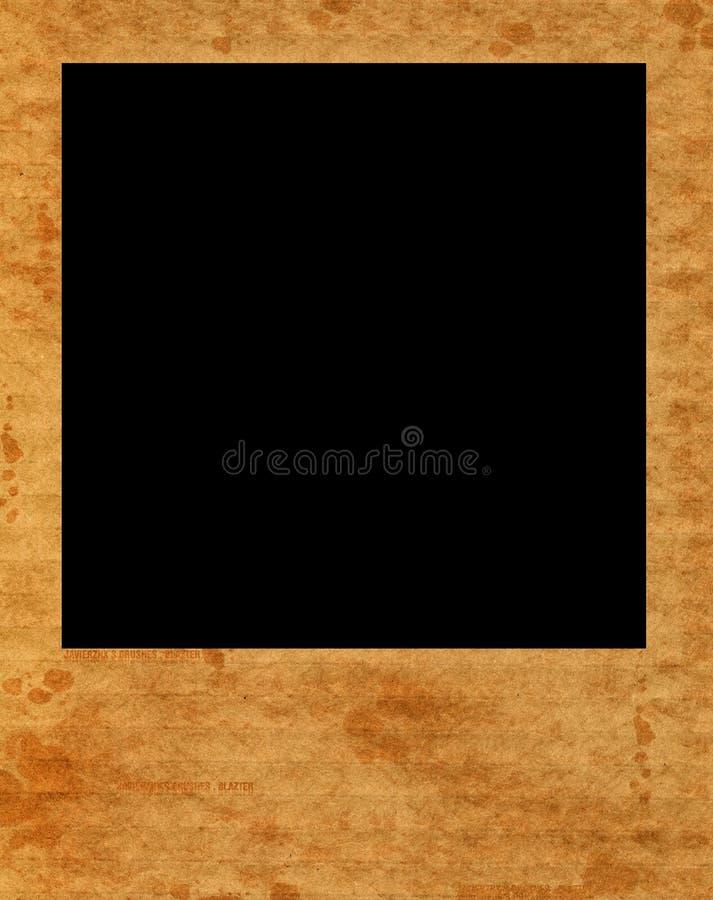 Leeg onmiddellijk filmframe vector illustratie