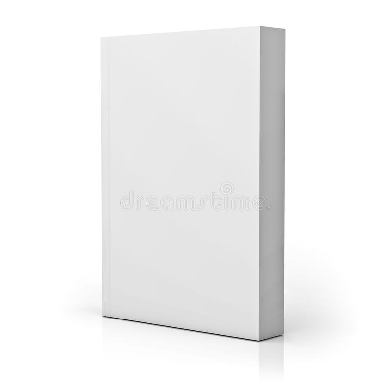 Leeg pocketboek stock illustratie
