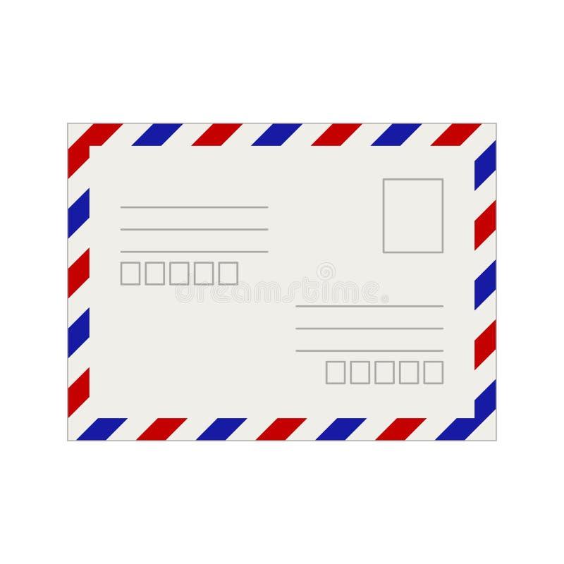 Leeg prentbriefkaarmalplaatje Vector illustratie royalty-vrije illustratie