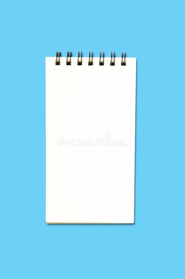 Leeg Ring Binder Notepad royalty-vrije stock foto