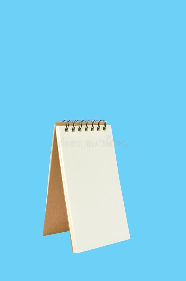 Leeg Ring Binder Notepad royalty-vrije stock fotografie